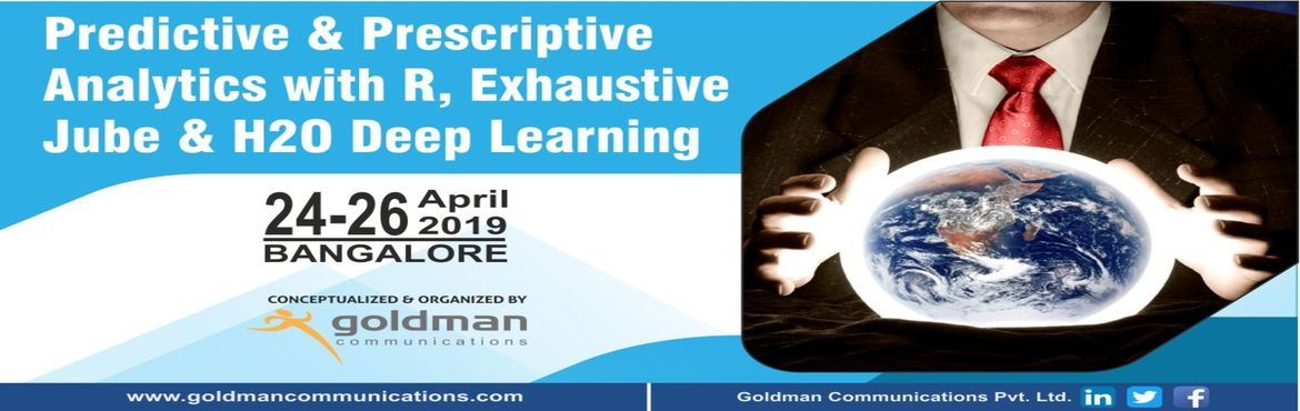 Book Online Tickets for Predictive and Prescriptive Analysis Mas, Bengaluru. Modern trends in Predictive & Prescriptive reveal how organizations should implement data solutions in business with the help of this classified big data analysis. These concepts will upgrade your skills data analysis, statistics, forecasting, pr