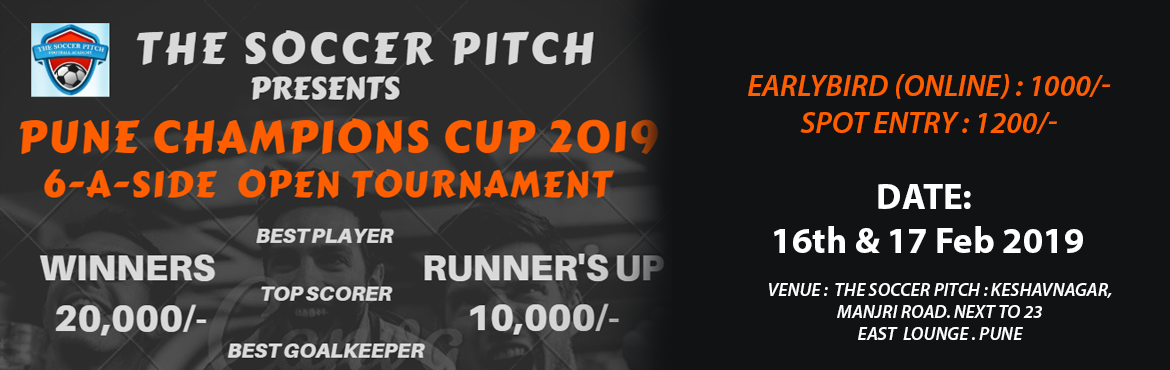 Book Online Tickets for PUNE CHAMPIONS CUP 2019, Pune.