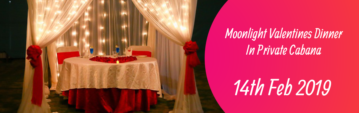 Book Online Tickets for Moonlight Valentines Dinner In Private C, Bengaluru. This valentine\'s day, fall in love with your loved one again under this beautifully lit Cabana in the open lawns. Enjoy the nature and at the same time protect yourself from the wind chills with the warmth set-up under the cabana. Great food spread,