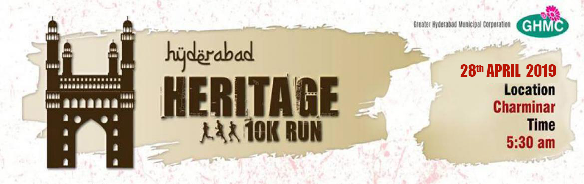 Book Online Tickets for 2nd Heritage 10K Run 2019 , Hyderabad. We are delighted to announce the 2nd Edition of the Hyderabad Heritage 10k Run at Charminar. The Charminar monument is an internationally recognized icon in the center of Hyderabad. Charminar is synonymous with the culture of Hyderabad, standing tall