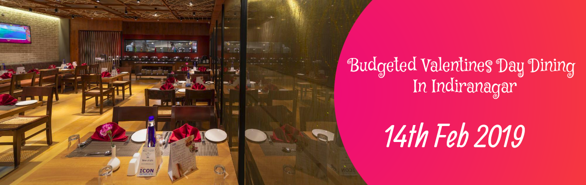 Book Online Tickets for Budgeted Valentines Day Dining In Indira, Bengaluru. Inclusions   Price includes dinner for a couple (2 people) Table Decoration: Rose petals and candles Drinks: 2 Mocktails Food: 3 Course Dinner (Veg/Non-Veg).A dedicated person is allocated to serve you along with a few other tables.  2 Star
