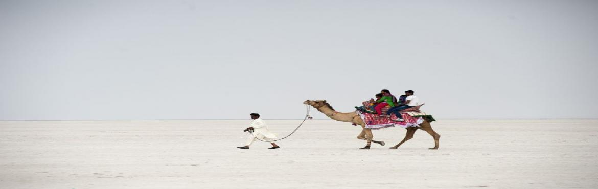 Book Online Tickets for Rann of Kutch, Hyderabad.    Overview:Region: Gujarat, India.Official Language : Kutchi, Gujarati.Duration: 4 Days (Ahmedabad to Ahmedabad)Grade: Easy (Backpacking)Age: Min 8Mode of transport : Train - SleeperThe Rann of Kutch is a salt marshy land in the Thar Deser