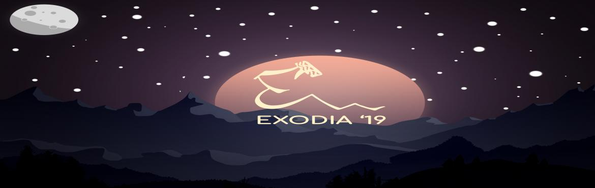 Book Online Tickets for Exodia-19, Kamand. IIT Mandi, one of the pearls in the splendid tiaras of The Great Himalayas, hereby takes a stride to add to the shimmer of the gorge by bringing forth its Techno-Cultural festival ''EXODIA'' which is back with a bang!! ,