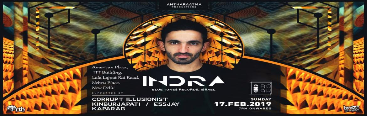 Book Online Tickets for PROJECT INDRA , New Delhi. Indra is Oshri Krispin from Beer-Sheva, Israel. He started to develop Indra in early 2000. Indra is a psychedelic music producer has a sharp and brilliant production followed by amazing ideas, melodies, effects, atmosphere and variety of frequen
