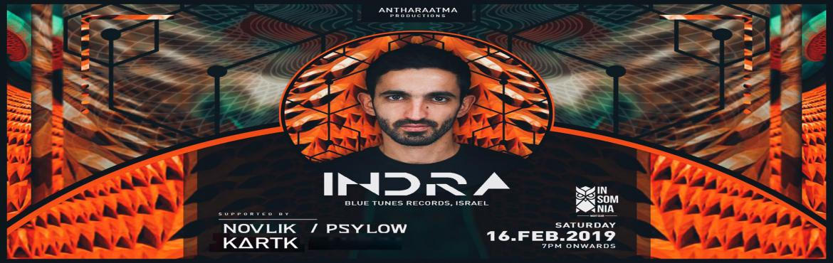Book Online Tickets for Project Indra , Hyderabad. Indra is Oshri Krispin from Beer-Sheva, Israel. He started to develop Indra in early 2000. Indra is a psychedelic music producer has a sharp and brilliant production followed by amazing ideas, melodies, effects, atmosphere and variety of frequen