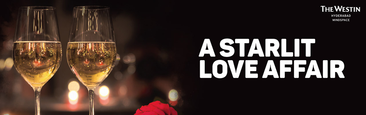 Book Online Tickets for A Starlit Affair at Westin Mindspace, Hyderabad. The Westin Hyderabad Mindspace believes in gifting your partner an unforgettable memory of love. Forgo the flowers and gift your partner an experience to remember this Valentine's Day. Bring out the romance amidst the stars coupled with the per