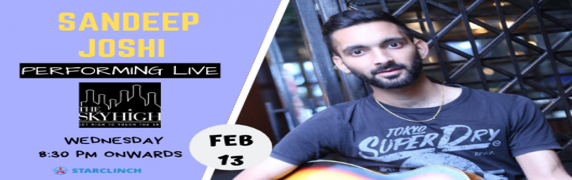 "Book Online Tickets for Sandeep Joshi - Performing LIVE at The S, New Delhi.   ""Music is a language that doesn't speak in particular words. It speaks in emotions, and if it's in the bones, it's in the bones."" So, Turn your regular weekday evening into an evening full of music with Sandeep Jo"
