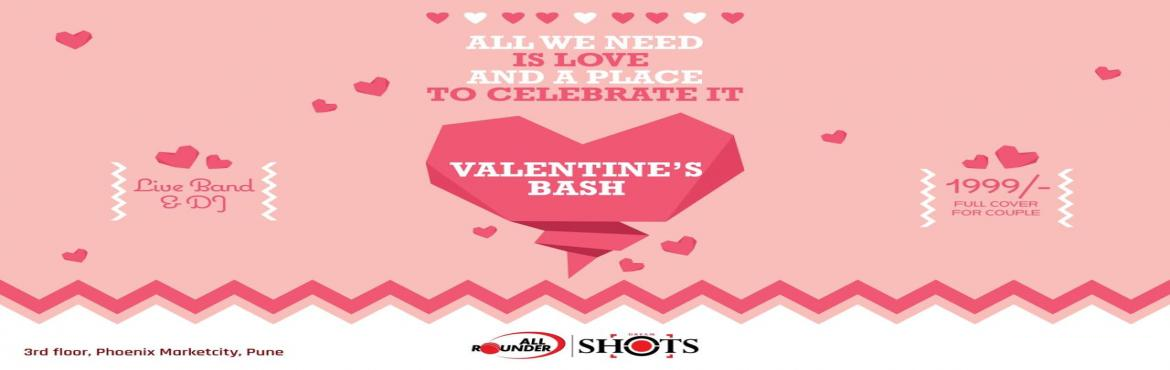 Book Online Tickets for VALENTINES DAY AT ALL ROUNDER SHOTS, Pune. All we need is love & a place to celebrate it! Make All Rounder Shots the place to celebrate this Valentine's Day! Romantic settings, candle light dinner, live music, dance floor with DJ and dance away into the romance of the night ! Rs.199