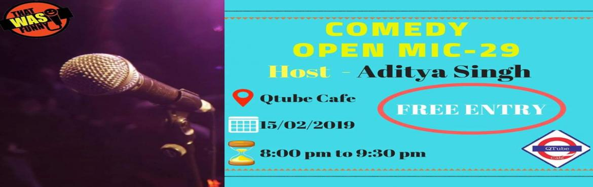 Book Online Tickets for Comedy Open Mic-29 FREE ENTRY, Mumbai. FREE ENTRY \