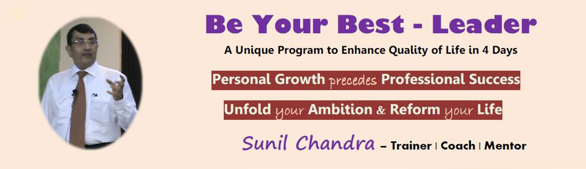 BE YOUR BEST - LEADER 4 Day Training Workshop