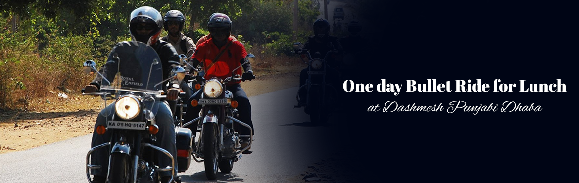 Book Online Tickets for One day Bullet Ride for Lunch at Dashmes, Hyderabad. Everyday we go through a lot go hurdles and deal with all sorts of drama, this ride is an opportunity for few of us to unleash the free spirit of living in the moment. This is our moment were we ride through sunriseThe best part?we get to sip some ho