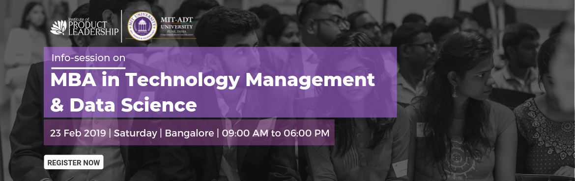 Book Online Tickets for Info Session on MBA in Technology Manage, Bengaluru. The generic MBA is dead! As per 'The National Employability Report', 97% MBA grads in India are not employable. Is there a way you can opt for an MBA degree that enables specialized domain skills, offers a job guarantee and gets you an av
