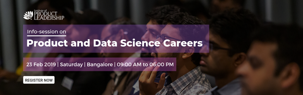 Book Online Tickets for Info Session on Product and Data Science, Bengaluru. Career Growth often rewards to the one who continuously upskills and stays current with the industry. What got you here may not get you there! Are you wondering just what it takes to stand out in this crowd and take your career to the next level leve