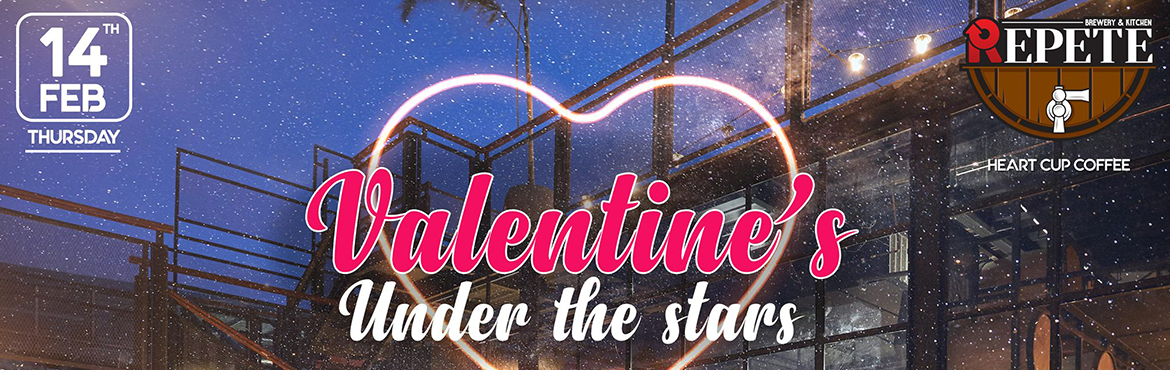Book Online Tickets for Valentines Under The Stars Feat Flipsyd , Hyderabad. What more could you want this Valentine's Day than an intimate setting with rooftop vibes, unlimited liquor, wine, and fresh brewed beers along with delectable food, and all your favorite heartfelt hip-hop/ commercial and Bollywood by DJ Flipsy