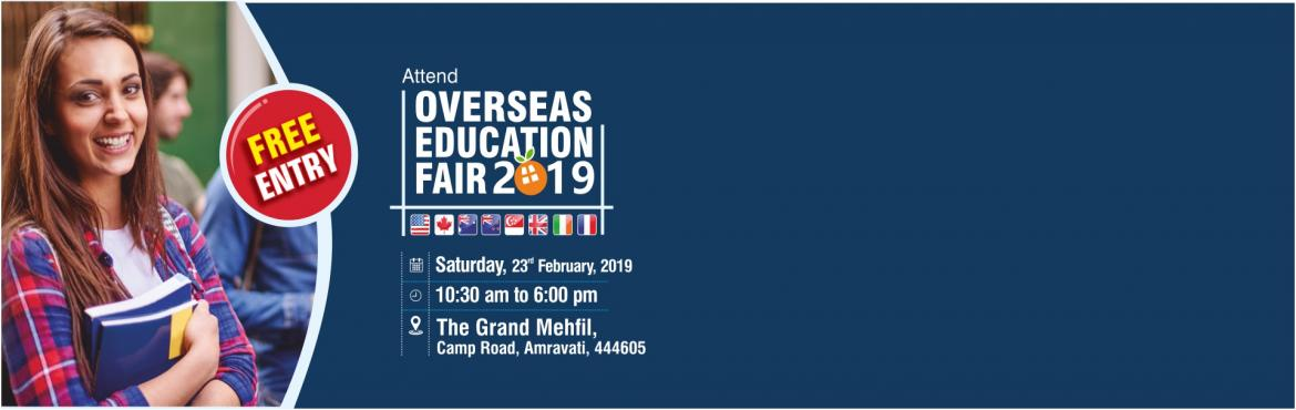 Book Online Tickets for Overseas Education Fair at Amravati - 23, Amravati. Apply to 670+ foreign Universities in US, UK, Canada, Australia, New Zealand, and other top education destinations! Free Entry!!! Krishna Consultants is conducting an Overseas Education Fair for all students who are looking to pursue their education
