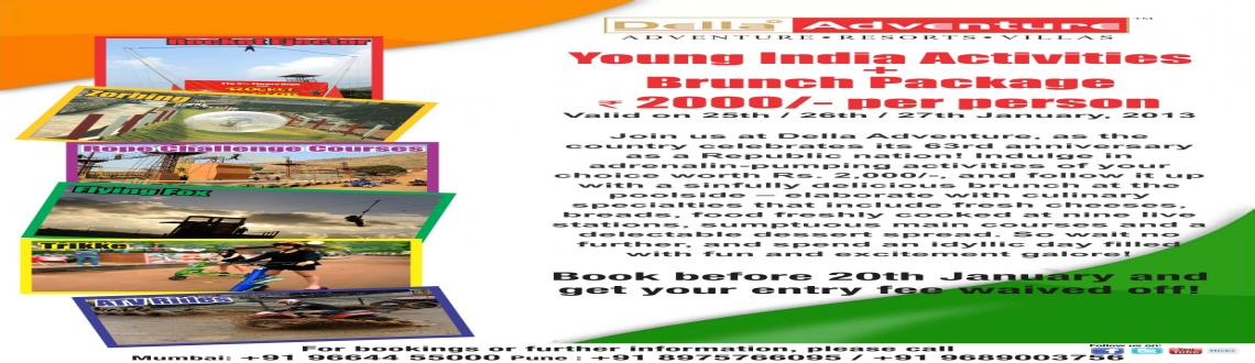 Young India Activities + Brunch - Republic Day Special Package