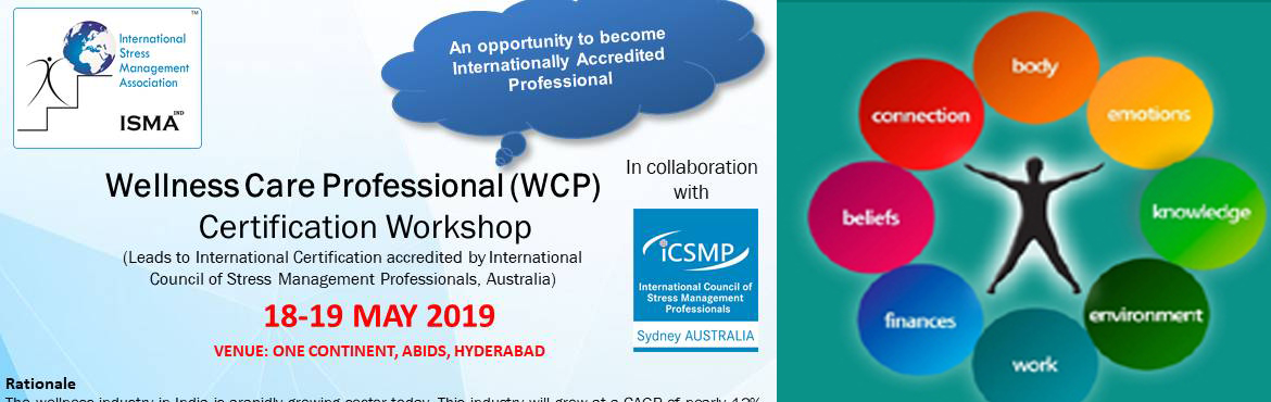 Book Online Tickets for Wellness Care Professional International, Hyderabad.
