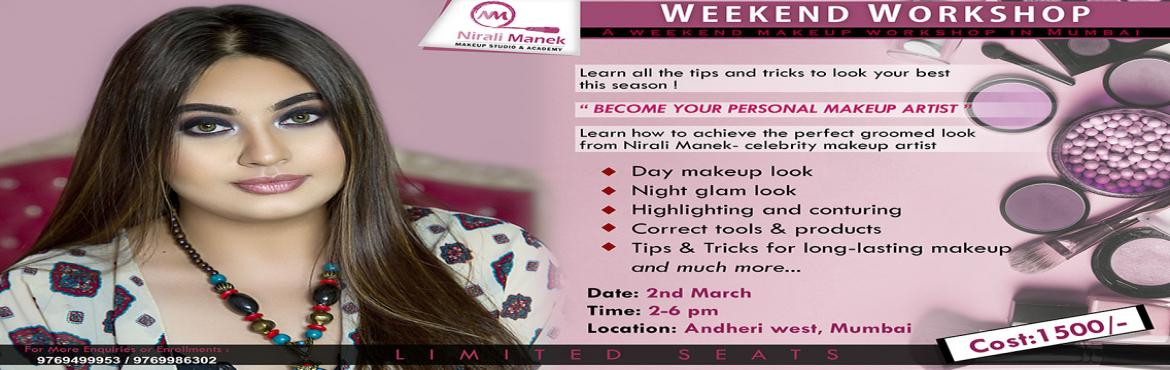 Book Online Tickets for Personal Makeup Workshop | Nirali Manek, Mumbai. Become your own makeup personal makeup artist