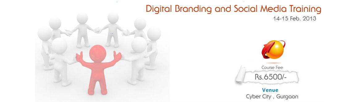 Book Online Tickets for Digital Branding and Social Media Market, Gurugram. Digital BRANDING and SOCIAL MEDIA MARKETING WORKSHOP
