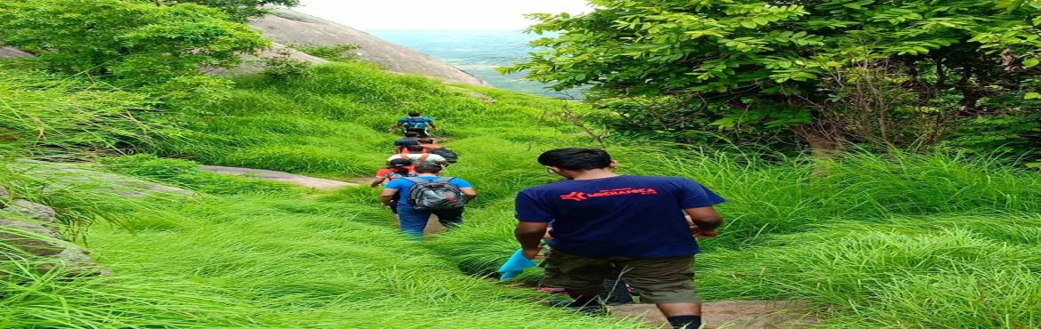 Book Online Tickets for Hike to Hutridurga- Wanderophile , Huthridurg. Hutridurga is one of the \'Navadurgas\', the nine hill forts around Bengaluru. Now,a popular hiking destination it is located about 65 Km west of Bengaluru. With the ruins of a fort which dates back to the 16th century and the lush green vegeta