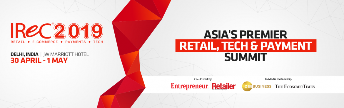 Book Online Tickets for Indian Retail And E-Retail Congress and , New Delhi.  We invite you to the 8th Edition of Indian Retail & eRetail Congress & Awards 2019, a two-day conference & Awards ceremony that brings together top leaders of the industry to interact and draw attention to best practices and promote