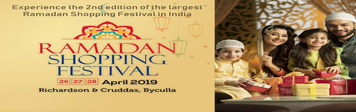 Book Online Tickets for Ramadan Shopping Festival 2019, Mumbai. The 2nd edition of Ramadan Shopping Festival will be the ultimate shopping destination to fulfill the festive needs. The 3-day exhibition will showcase the exclusive lifestyle products and services by the exhibitors.  Ramadan Shopping Festival will b