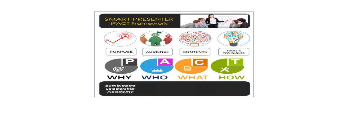Book Online Tickets for Smart Presenter - Developing and Deliver, Chennai. The Business Value Of A Good Presentation ... And What is the Cost Of A Bad Presentation! If you don\'t know what you want to achieve in your presentation, your audience never will. The single biggest problem with communication is the illusion that i