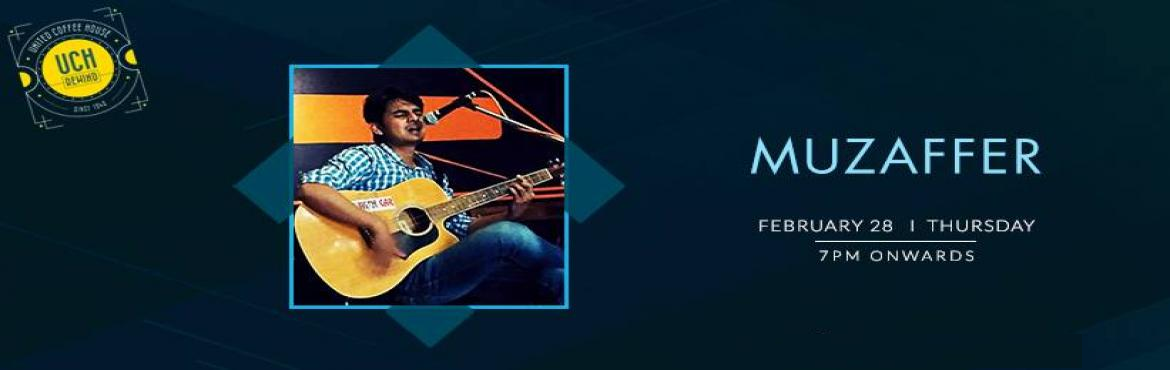 Book Online Tickets for Muzaffer - Performing LIVE At UCH Rewind, Gurugram. Muzaffer is going to perform live at \'UCH Rewind, Cyber Hub\' on 28th Feb at 5:30 PM to give you lots of amazing musical memories and moments that you will remember for your entire life so don\'t miss the chance and grab your seat now. Muzaffer