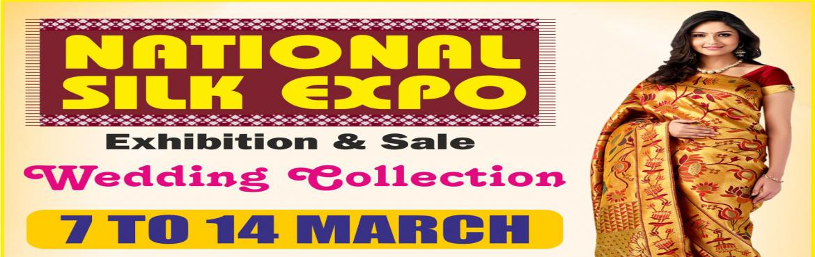 Book Online Tickets for National Silk Expo, New Delhi. National silkexpo, offers more than 1,50,000 varieties of new designs for the women, who are looking for the latest designs and new fashions. The tie and dye, Bandhej, block and Dabu, Batik, Gadwal, Pochampally, Chikan work, Kalamkari, Kantha,