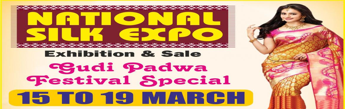 Book Online Tickets for National Silk Expo, Mumbai. National silkexpo, offers more than 1,50,000 varieties of new designs for the women, who are looking for the latest designs and new fashions. The tie and dye, Bandhej, block and Dabu, Batik, Gadwal, Pochampally, Chikan work, Kalamkari, Kantha,