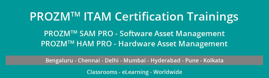 """Book Online Tickets for PROZMâ""""¢ SAM PRO TRAINING AND CERTIF, Chennai. PROZM™ SAM PRO– Most advanced Certification trainings for Software Managers / and Software Asset Management (SAM) Professionals. Participants from Major MNC ITeS companies, Fortune 500 as well as Big Consulting firms.  &nbsp"""