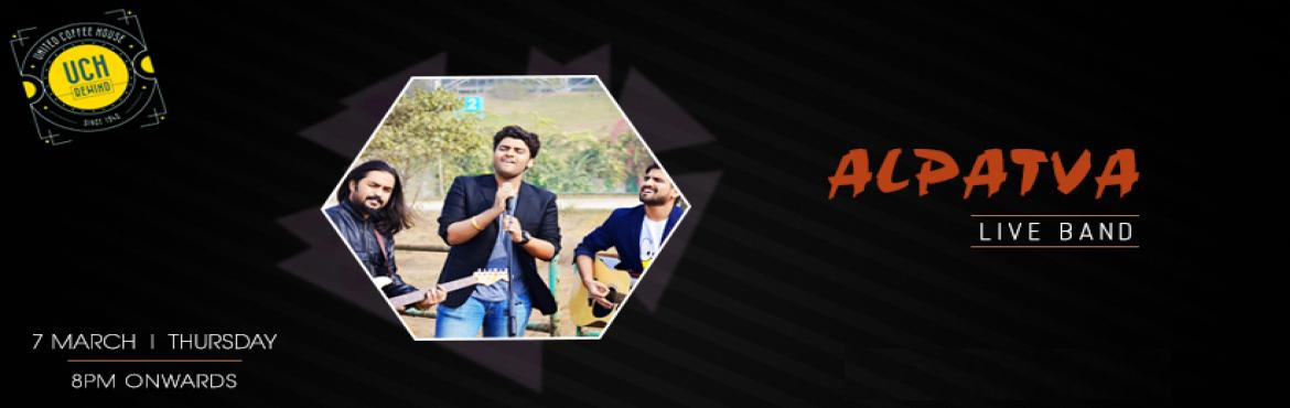 "Book Online Tickets for Alpatva - Performing Live at UCH Rewind,, Gurugram. ""Music is the language of the spirit. It opens the secret of life bringing peace, abolishing strife.""   Bring peace and love in your life on this upcoming Thursday, If you truly love Hindi rock and Sufi music then this live music per"