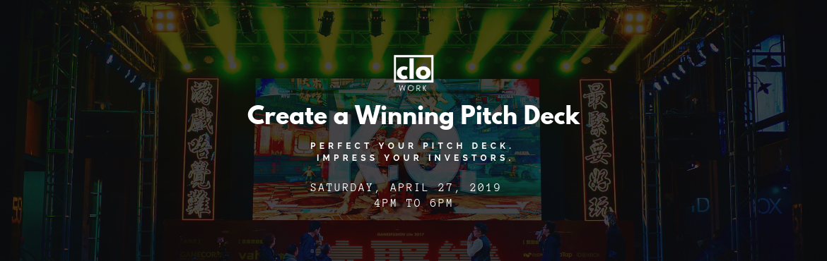 Book Online Tickets for Create a WInning Pitch Deck, Hyderabad. Raising capital is a necessary process for any startup in order to survive and scale. A strong pitch deck can ensure that your startup articulates a compelling and interesting story, gets the attention it deserves and gains enough traction.You