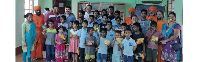 Book Online Tickets for Ananda Marga Children Home, Bengaluru. Ananda Marga runs numerous children's homes around the world.  Ananda Marga Childrens\'s Home 20th Main Road, Jnana Ganga Nagar, Bengaluru, Karnataka 560056 099166 32033