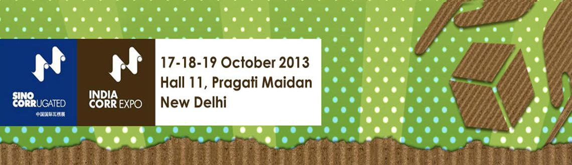 Book Online Tickets for IndiaCorrugated 2013 , NewDelhi. India Corrugated 2013 is your gateway to complete Indian corrugated manufacturing industry. The event features the latest and most innovative corrugated equipment and technology.