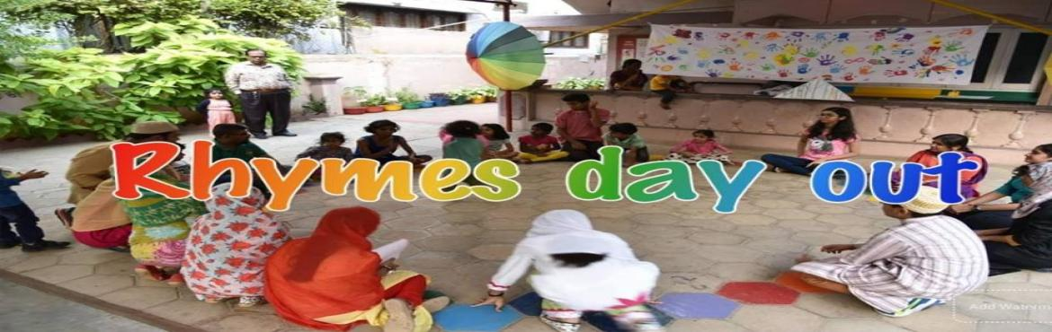 Book Online Tickets for Rhymes Day, Hyderabad.  Inviting all mothers of children below 4 years to a weekend where you can flow with rhythm, movement with loads of joy at Vision Rainbow on 16th March 2019 from 3 p.m. till 6 p.m.This is very relevant to the kind of connection and fun you can h