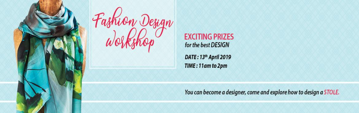 Book Online Tickets for Fashion Design Workshop, Pune.  Design Media School Pune Organizing a Fashion Design Workshop. Come & Design your Own Stole & win some  Exciting Prizes for the best design. The Workshop will be conducted by Ms.Sumi Giriraj Borge. She has