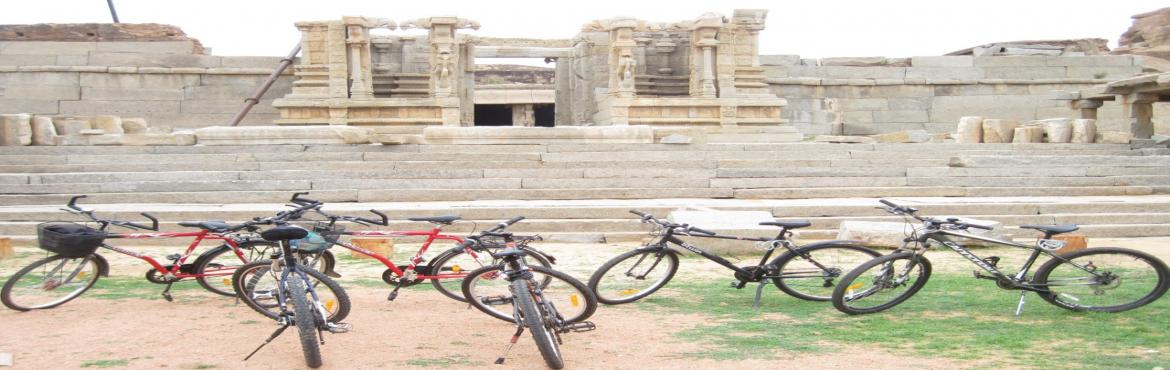 Book Online Tickets for Hampi Bicycle Tour and Camping, Bengaluru.  Overview: Hampi, also referred to as the Group of Monuments at Hampi, is a UNESCO World Heritage Site located in east-central Karnataka, India. It became the centre of the Hindu Vijayanagara Empire capital in the 14th century. Chronicles left b