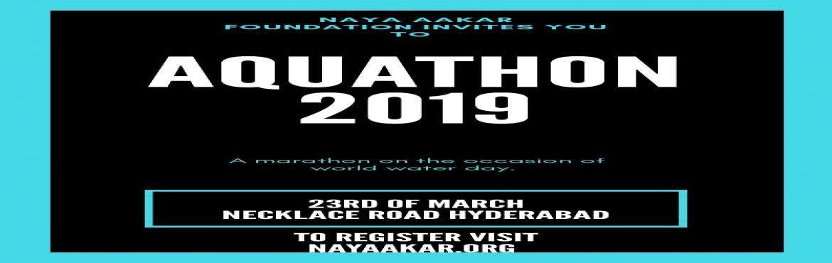 Book Online Tickets for AQUATHON, Hyderabad. CHALFORJAL AND GET FREE REFRESHMENTS, DRINKS (REDBULL & GLUCOSE), CERTIFICATE, EXCITING PRIZES, AND MUCH MORE.T&C A 5K 3K RUN ON DATE- 23.03.2019 VENUE - NECKLACE ROAD TIME - 6:00A.M. ONWARDS PRIZES FOR TOP 10 WINNERS T-shirts will be g