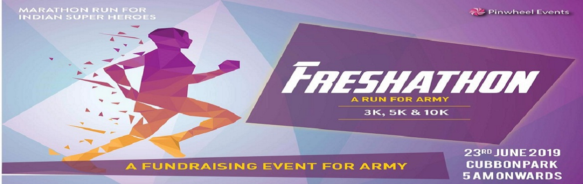 Book Online Tickets for Run For Indian Super Heroes (A fund rais, Bengaluru. Fund raising marathon for army This event is being organised to raise the fund for our indian army, as they have been safeguarding our beloved country and our lives. many brave soldiers have sacrificed their life\'s in the recent pulwama attack