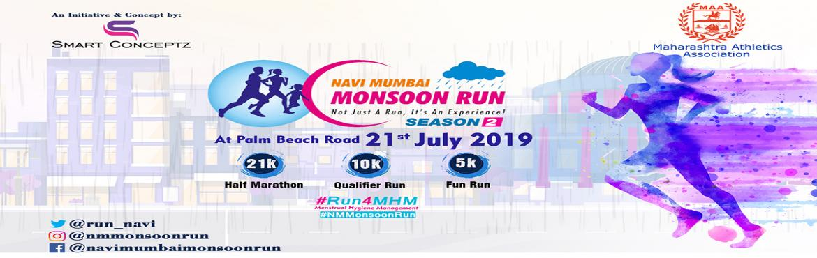 Book Online Tickets for Navi Mumbai Monsoon Run-Season 2, Mumbai. Navi Mumbai Monsoon Run-Season 2: Run for MHM (Menstrual Hygiene Management). It is a taboo talking about MHM. We wish to create awareness everybodyki MHM karo…This is a movement for not just spreading awareness on fitness & he