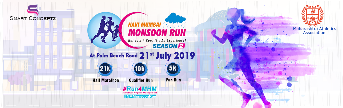 Book Online Tickets for Navi Mumbai Monsoon Run-Season 2 at Palm Beach Road a runner's paradise. This Event is not just spreading awareness on