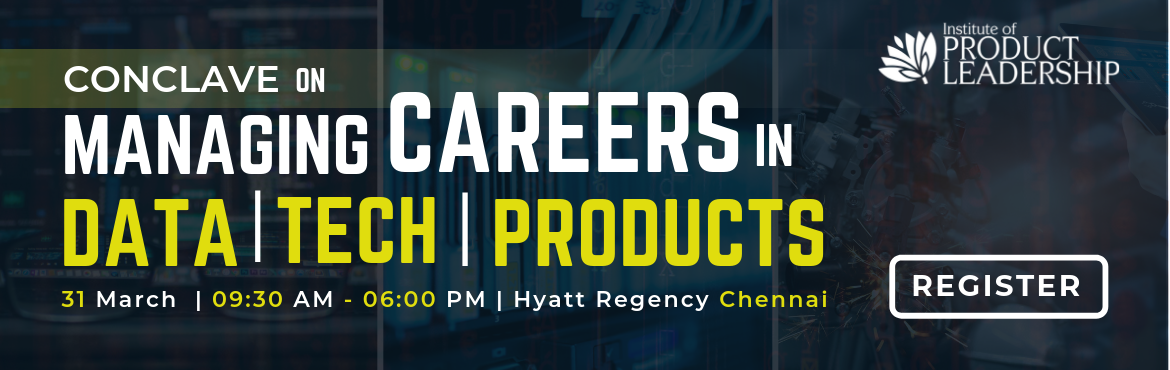 Book Online Tickets for Conclave On Managing Careers In Data, Te, Chennai. It's an opportunity to understand how to move into new roles and how to put together a plan to go from a feeling of 'stuck' to 'go father faster'!  Agenda: 9:30 am to 10:00 am - Registrations & Networking 10:00