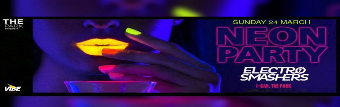 Book Online Tickets for Neon Glow Holi Special Sunday, Bengaluru.   Are you ready to glow this Holi? This Sunday we are turning i-BAR into a Neon Glow Park by the poolside with an amazing Indoor & outdoor Setup of Sound, Lights,Glow paints,Neon sticks, Neon Hats & more! Also ladies get Unlimited free W