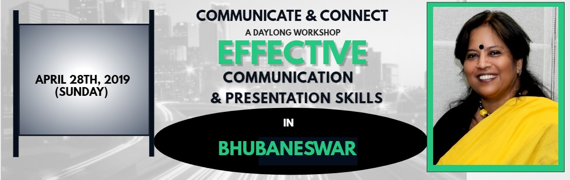 Book Online Tickets for Workshop Communicate and Connect at Bhub, Bhubaneswa. Seats getting filled up fast!!! We have limited entry of 15 participants. Please find belowtwo FEED BACK videos from earlier Participants.   You may Search Sujata Mukherjee in Google. \