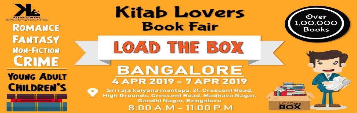 Book Online Tickets for LOAD The BOX Kitab Lovers Warehouse Sale, Bengaluru. Load the box - pay for the box and load it with books ! If you are from Bangalore , Here is an exciting news for all the book worms who look forward to the book exhibitions.Kitab lovers - A haryana based brand is organizing a book exhibition fr