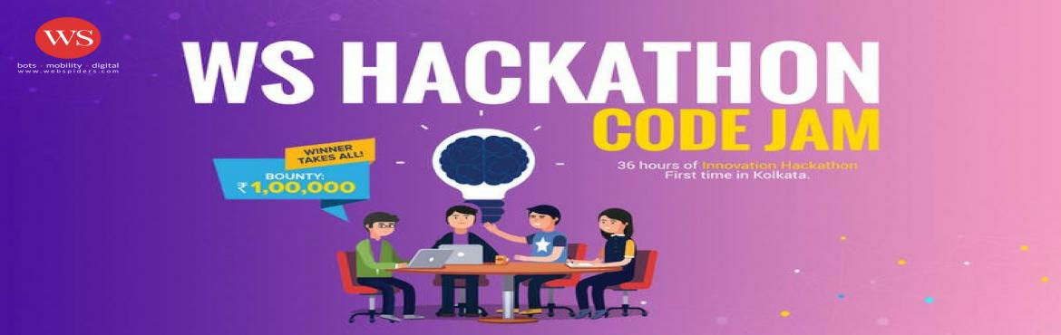 Book Online Tickets for WS HACKATHON CODE JAM, New Town. WS Hackathon 2019 is a 36-hour event that invites the city's coders, designers and other tech creatives to collaborate and build innovative software solutions. Participants will have to form teams of 2 or 3 and request for an invite via the req