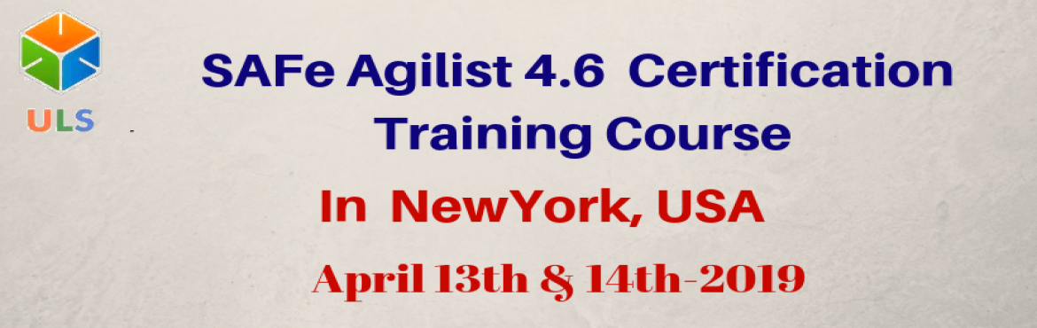 Book Online Tickets for SAFe Agilist 4.6 Certification Training , New York. Ulearn System\'s OfferSAFe Agilist 4.6Certification Training Course New-york-new-york-city, United States, BestLeadingSAFe Agile Training Institute inNew-york-new-york-city, United States Enroll for Classroom