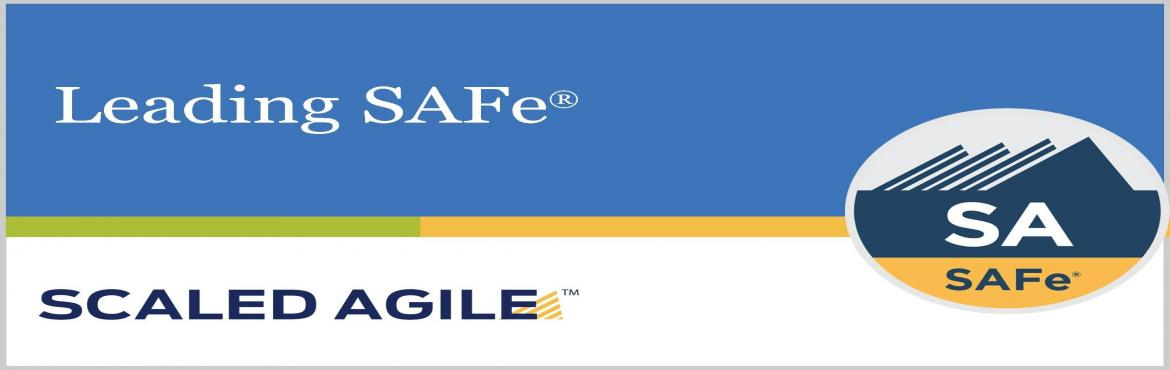 Book Online Tickets for Scaled Agile Leading SAFe 4.6 Training w, Chennai. SAFe (ScaledAgileFramework forenterprise) is a freely revealed knowledge base of integrated, proven patterns for enterprise Lean-Agile development.Leading SAFe 4.6 training will help you become a SAFe 4 Agilist and lead your o