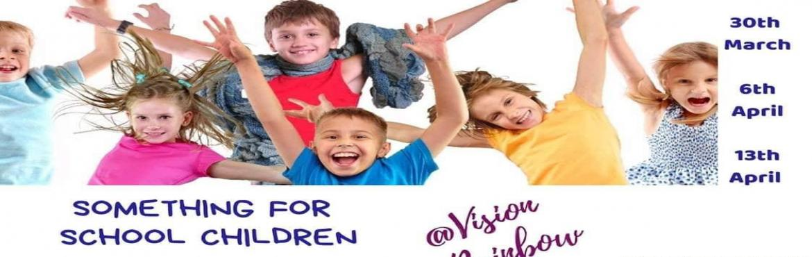 Book Online Tickets for Something for school children, Hyderabad. Good news everyone, Here\'s something for school children aged 9 and above and also adults...3 engaging sessions to turn your world around in a month 3 Saturdays 4 to 6 p.m. 3 dates to mark - 30th March / 6th April / 13th April 3 payment plans